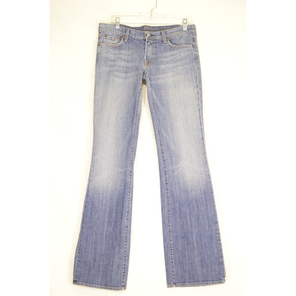 7 For All Mankind Denim - 7 For All Mankind jeans 31 x 35 bootcut extra long
